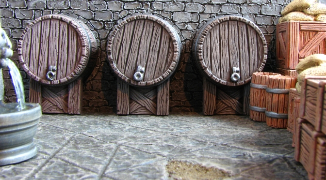 28mm Dungeon Crawl Beer Cellar