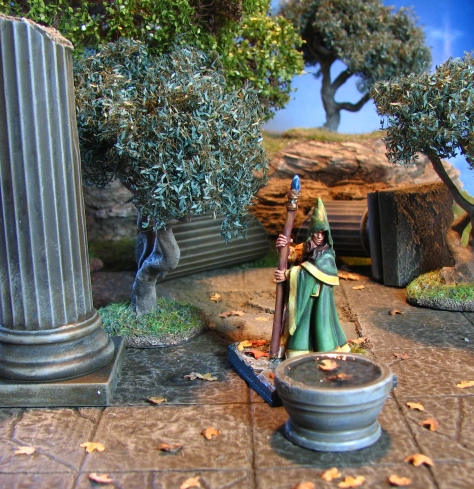 Anirion Woodelf Wizard, Reaper Miniatures