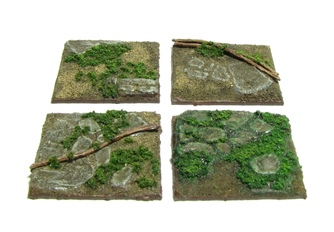 Crypt of the Damned, 28mm, Dungeon Crawl, Module, 3D Tiles, jungle base