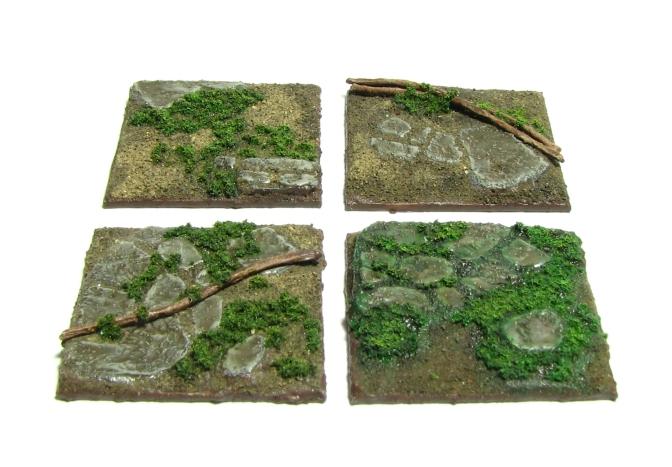 Entangled – Overgrown stone floor bases