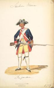 Sachsen Weimar Musketier