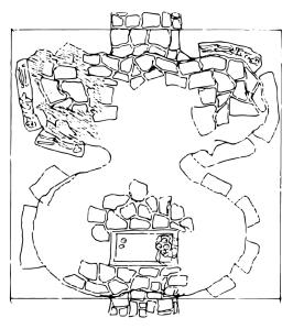 Sketch-crypt-vector