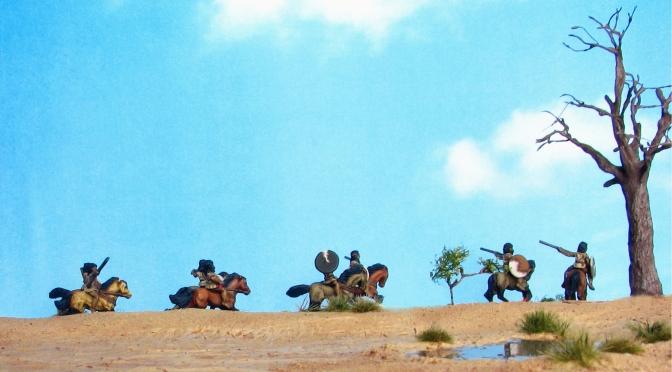 15mm Corvus Belli Numidian Light Cavalry Desert Terrain