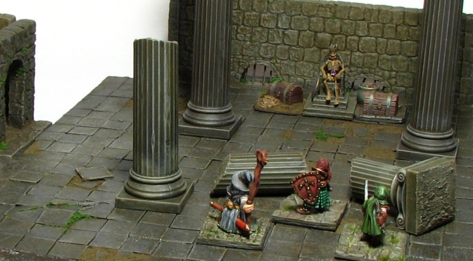 Rome wasn't built in a day – 3-D Dungeon tiles