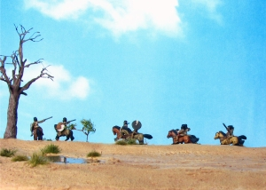 Corvus Belli, 15mm, Numidian Light Cavalry, Freehand