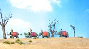 15mm Elephants Corvus Belli Desert Terrain