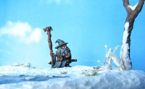 Khael Stonekindle 18mm Reaper Miniatures Snow Terrain