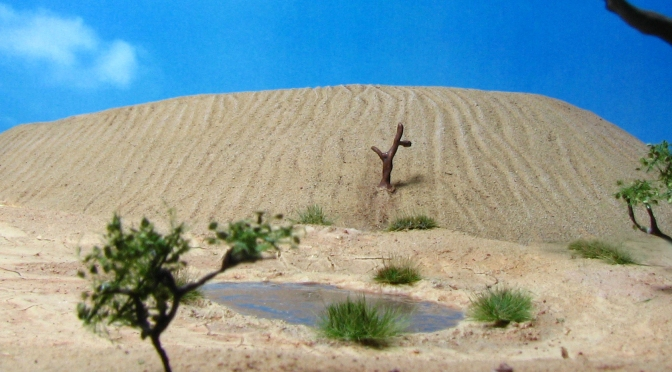 Sand Dune, Barchan Dune, 15mm, 28mm, Desert Terrain, Snake