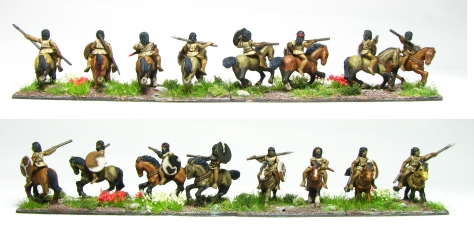 Numidians front and back