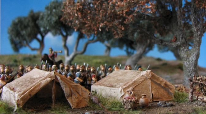 Rough camping  – Carthaginian Field Camp for Field Of Glory/DBX in 15mm Part I