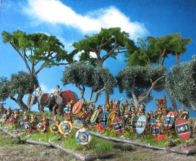 "Iberian Scutati – ""Esteemed to be the most warlike barbarians that now are."""