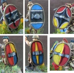 Shields Scutati Detail