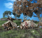 Carthaginian Field Camp, 15mm, DBX, FoG