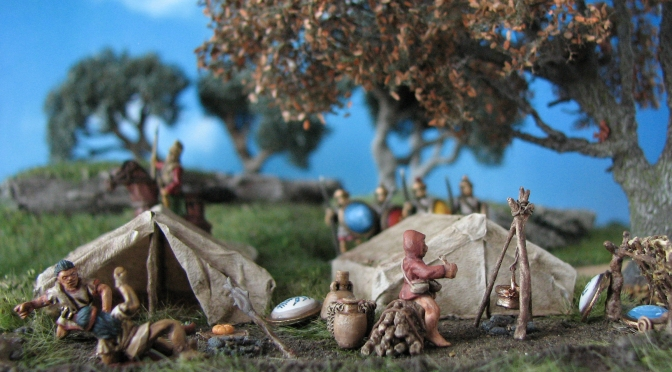Rough camping  – Carthaginian Field Camp for Field Of Glory/DBX in 15mm Part II