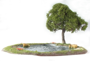 Lake Oak Tree Scenic Base