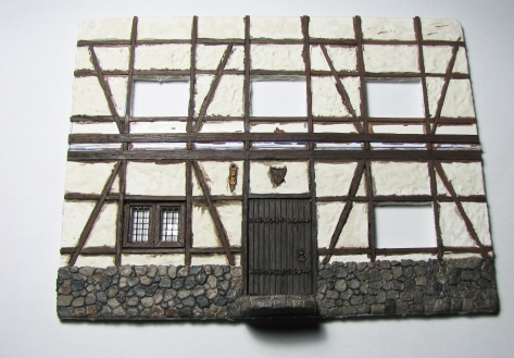 Wood Floor Plasticcard Styrene 28mm Wargaming Scale Modelling Tavern Tudor House Fachwerkhaus
