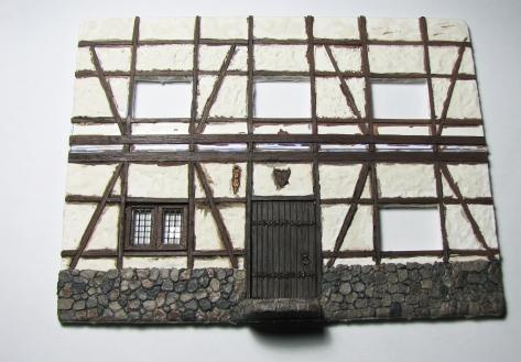 Wood Floor Plasticcard Styrene 28mm Wargaming Scale Modelling Tavern Tudor House Fachwerkhaus