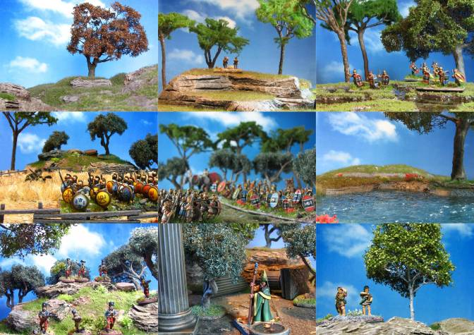 Remnants of the Past – a collection of mediterranean terrain pieces for 15mm and 28mm