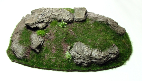 Wargaming, Hill, 15mm, 28mm, cliff, bark, small