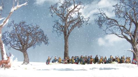 Miniature photography, scenic shot, tutorial, 15mm, 28mm, snow landscape, barren tree