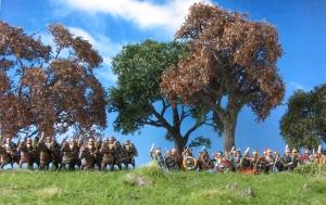 Celtiberians, 15mm, Corvus Belli, Field of Glory, Trees, Wargaming, MiniNatur, Iberian Heavy Cavalry