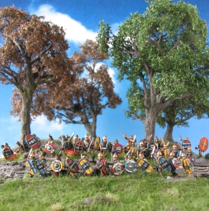 Celtiberians, 15mm, Corvus Belli, Field of Glory, Trees, Wargaming, MiniNatur,