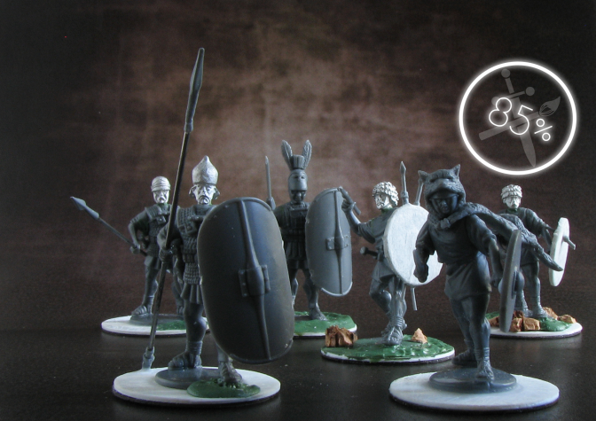 Agema Miniatures, Romans, Carthaginians, review, 28mm