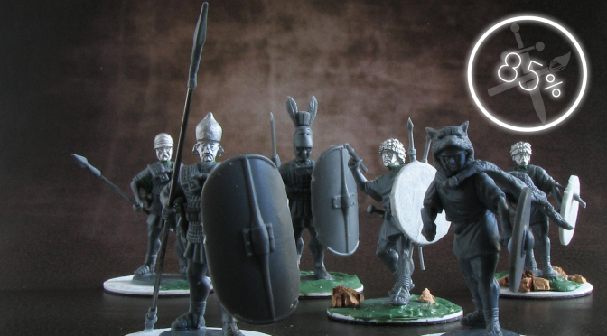 Romans Advance! – A Review of Agema Miniatures' Republican Romans and Carthaginians