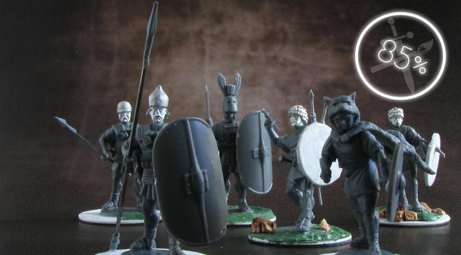 Romans Advance! – A Review of Agema Miniatures' Republican Romans and Carthaginians