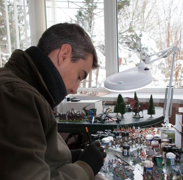 Agema miniatures, Greg, interview