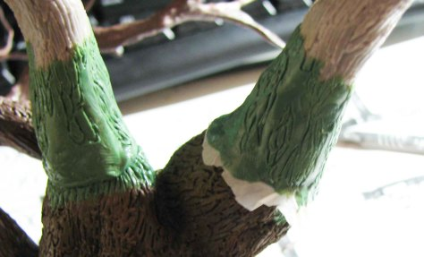 Greenstuff joints