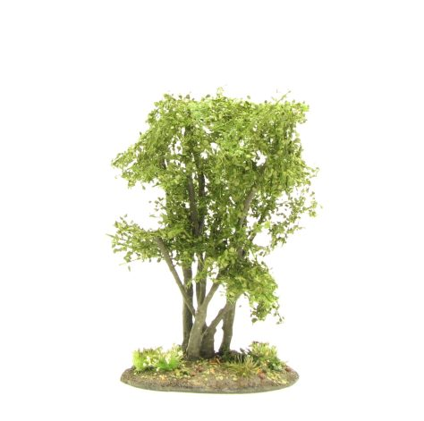 Small hazel bush, tutorial, wargaming terrain