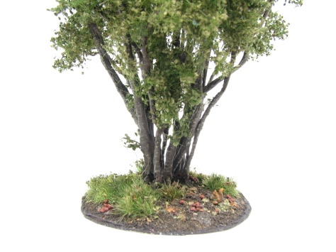 Hazel bush, wargaming terrain, scenic base