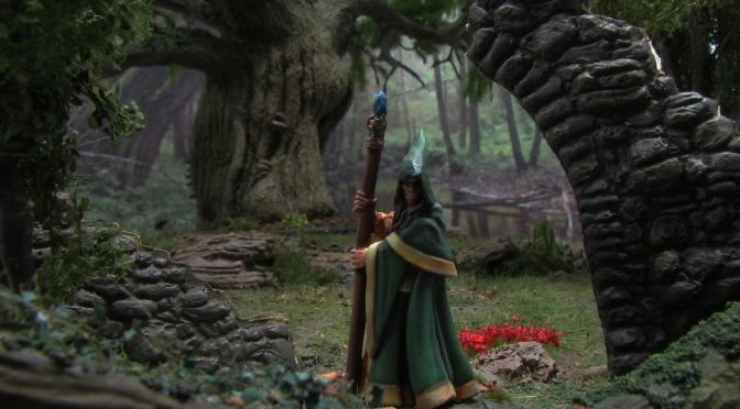 Anirion, Reaper Miniatures, ruin, forest, yew tree, 28mm, Fantasy, wargaming