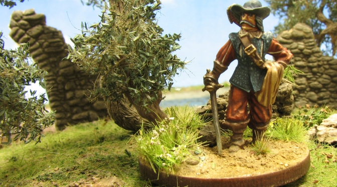 Hagen Miniatures, The Four musketeers, The three musketiers, 28mm, wargaming, miniature