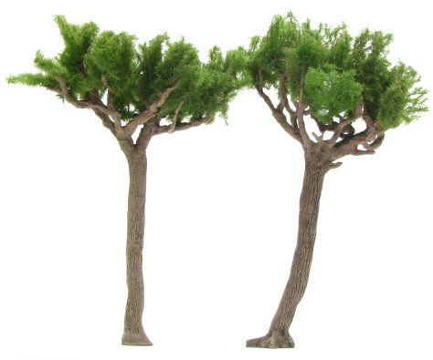 wargamign terrain, umbrella pine tree, scenic base, tutorial, realistic bark
