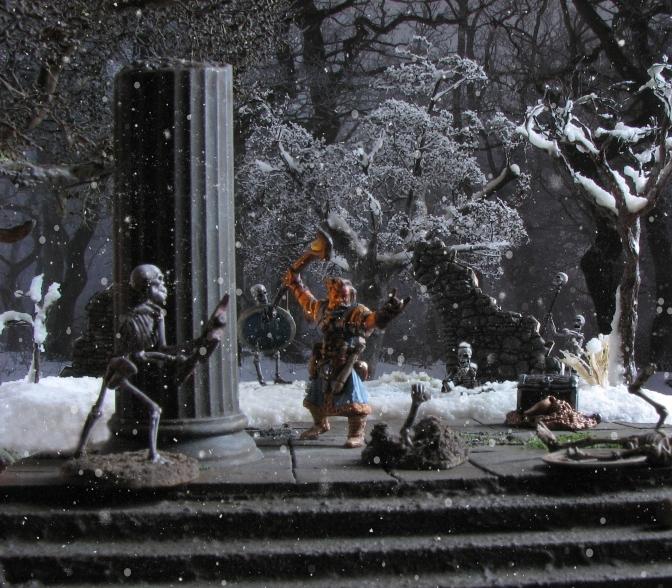 A chill to the bone – Reaper Miniatures' Iconic Wizard Ezren