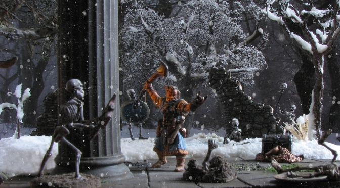 A chill to the bone – Reaper Miniatures' Iconic Wizard Ezren