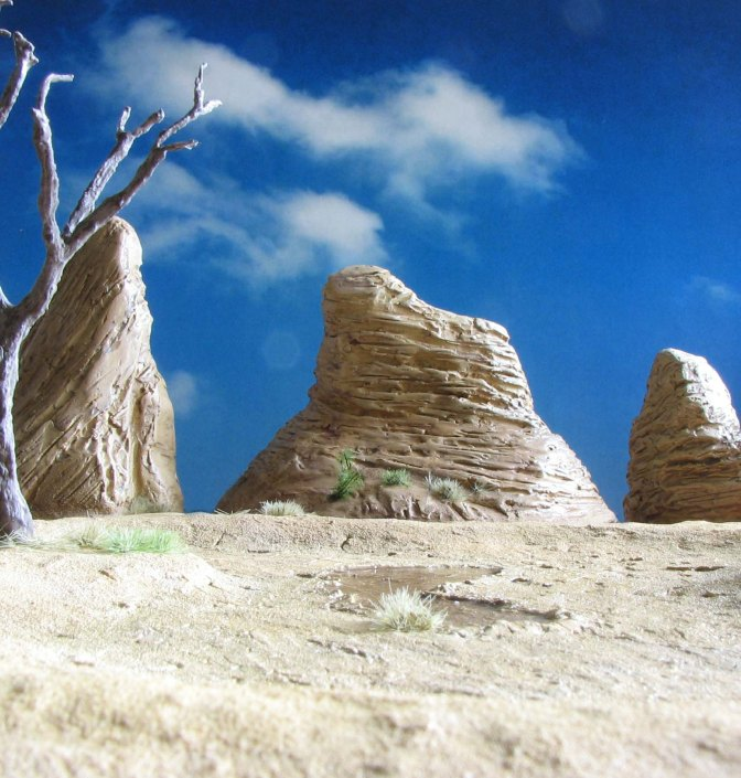 Shaped by time – Wind-swept rocks for your gaming table