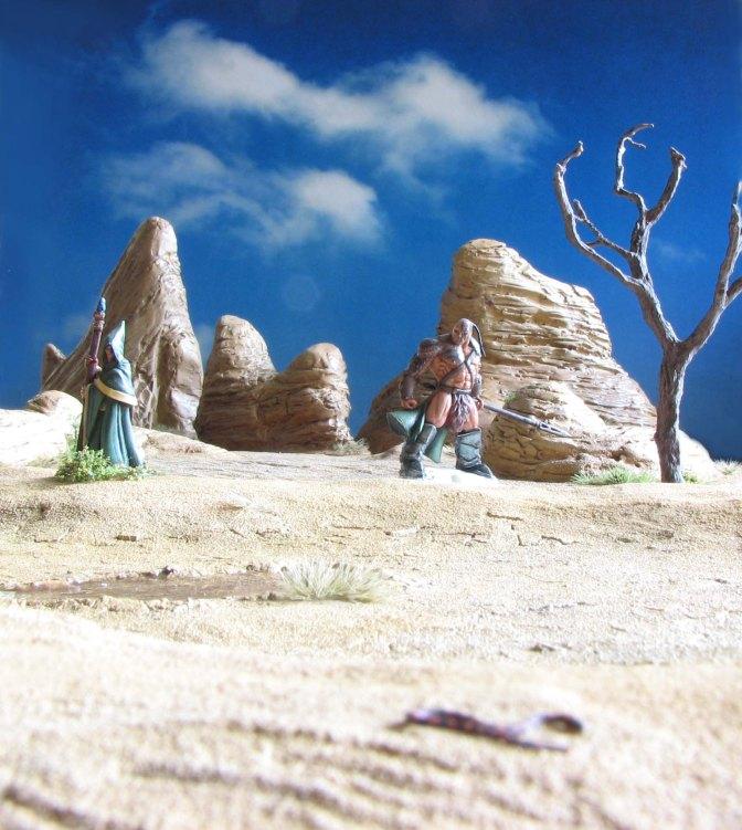 Mirage – Making a dry desert lake or Oasis