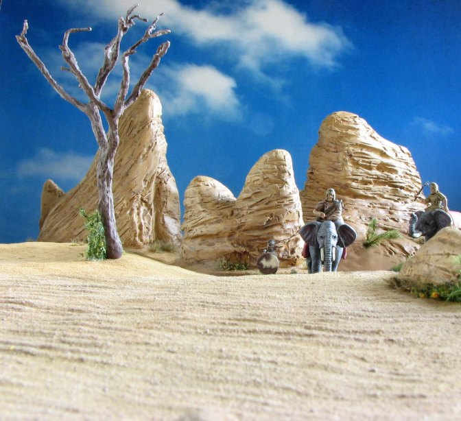 Sand in your shoes – A tutorial on arid rough terrain