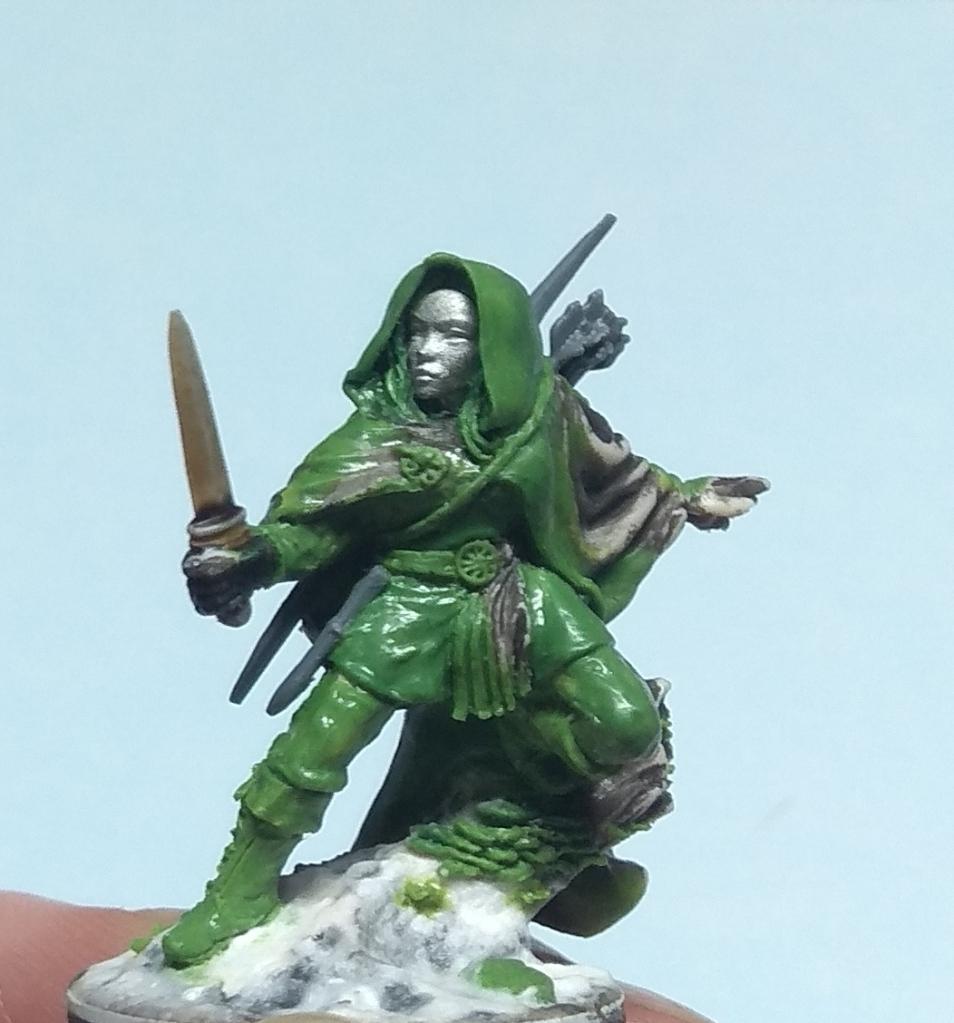 Nienna Elfen Ranger conversion. Reaper Miniatures.