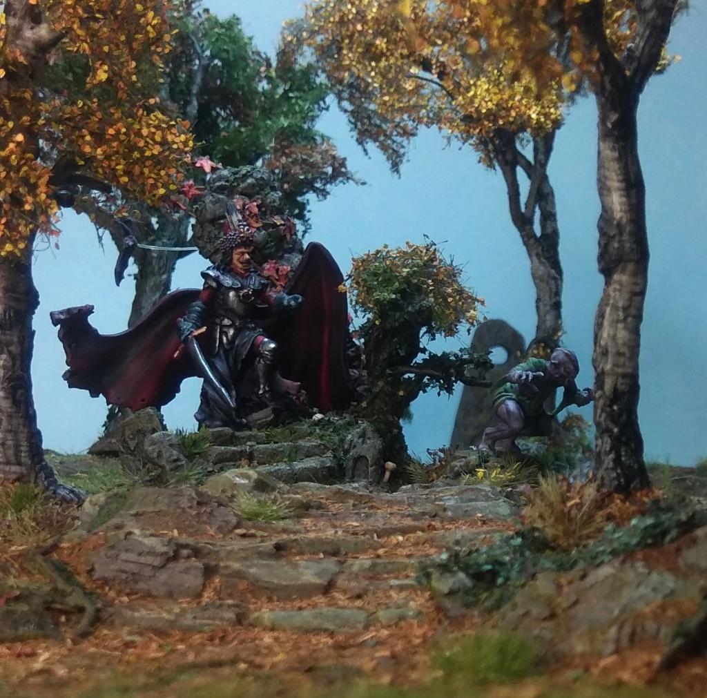 Vlad Dracul. Vampire Thrall. Birch trees.