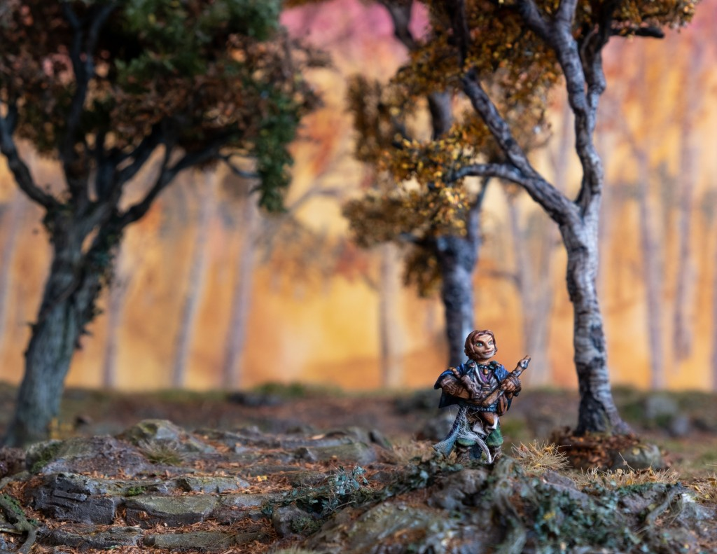 Lem Halfling Bard, Reaper Miniatures